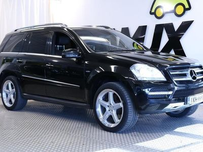 käytetty Mercedes GL350 CDI BE 4Matic AIRMATIC / WEBASTO / HARMAN KARDON / NAVI / 7-PAIKKAA /
