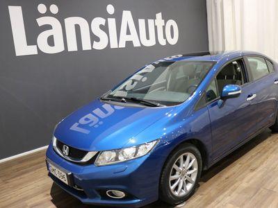 käytetty Honda Civic 4D 1,8i Executive SE AT * Peruutuskamera - Lohkolämmitin - Kattoikkuna * **** LänsiAuto Safe -sopimus hintaan 590€. ****