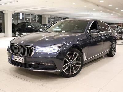 käytetty BMW 740 740 G11 Sedan d A xDrive Business Exclusive Harman Kardon, Head-Up, Seisontalämmitys, Vetokoukku