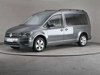 käytetty VW Caddy Maxi Life Comfortline 1,4 TSI 92 DSG- 7-paikkainen, Webasto-