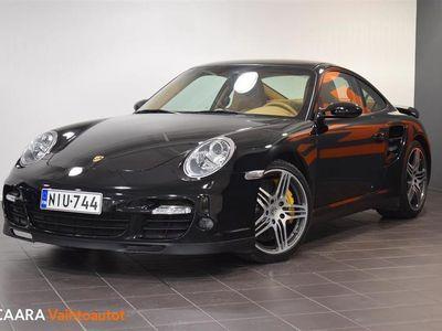 käytetty Porsche 911 Turbo Tiptronic S, Sport Chrono, Keraamiset jarrut, PASM, PCM Navi, Bose