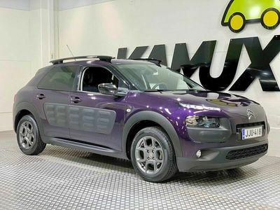 käytetty Citroën C4 Cactus e-VTi 82 Shine ETG Aut / SUOMI-auto / NAVI / Peruutuskamera!!