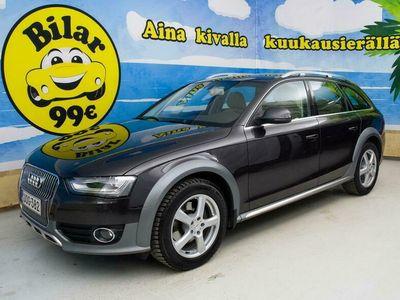 käytetty Audi A4 Allroad *NELIVETO*2.0TFSI Business quattro 155kW Man. Tarkastettuna, Rahoituksella, Kotiin toimitettuna!