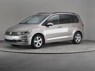 käytetty VW Touran Comfortline 1,6 TDI 85 DSG- 7-paikkainen, Navi, Webasto-