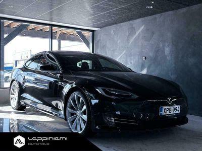 käytetty Tesla Model S P100D Ludicrous + / CPO / CCS / AP2 / FSD / Ilma-alusta / Panorama / Rahoitus / Vaihto