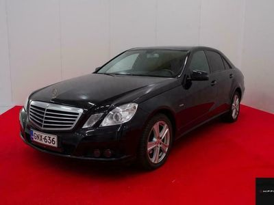 käytetty Mercedes E200 CDI BE Elegance A**WEBASTO**ADAPTI VAKKARI**NAHAT**NAVI**HUIPPUHIENO E MERSU**