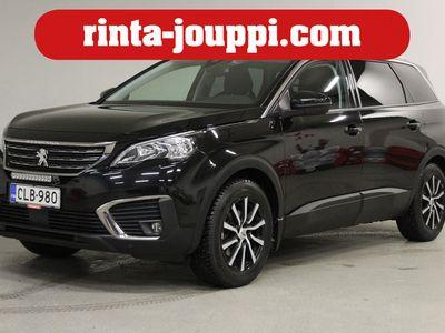 käytetty Peugeot 5008 Active PureTech 130 - Tilava ja tyylikäs metalliväri musta huippuluokan ajettava 5008!