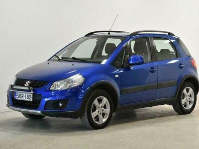 käytetty Suzuki SX4 1,6 VVT 4WD X-OVER GLX 5D 5MT