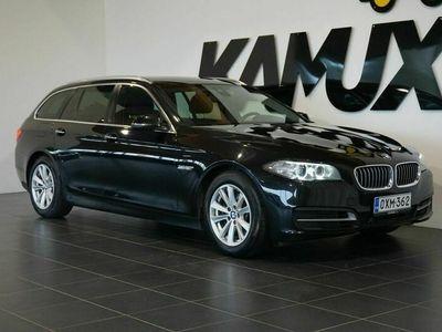käytetty BMW 520 520 F11 Touring d A Business / Ceramic Pro / Brembon jarrut / Avaimeton käynnistys / Cruise / Sähköluukku / Siisti!