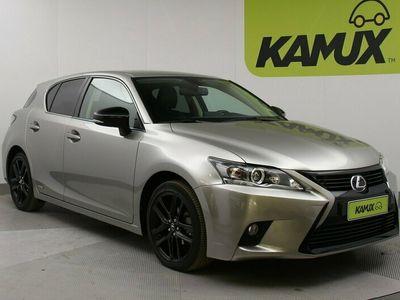 käytetty Lexus CT200h Hybrid A Black Edition // Navigointi / Keyless / Nahka-Alcantara //
