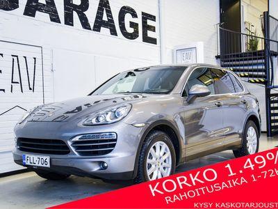 käytetty Porsche Cayenne Diesel Tiptronic 180kW / Navi / Koukku / Tutkat / Korko 1,49 %
