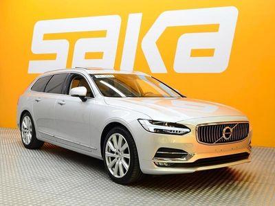 käytetty Volvo V90 D4 AWD Inscription aut ** VOC / Adapt. Vakkari / Nahkasis. / Panorama / Adapt. Led **