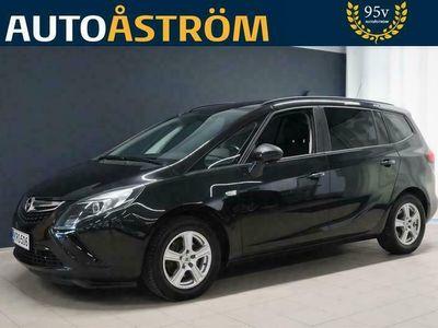 """käytetty Opel Zafira Tourer Enjoy 1,4 Turbo 140 hv Automaatti 7-P *Suomi-auto* *Vakkari* *Koukku* *Tummat lasit* *17"""" Kesäalut*"""