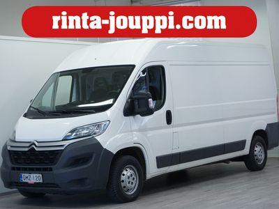käytetty Citroën Jumper BlueHDi 130 35 L3H2 - Tulossa myyntiin!, Alv-vähennyskelpoinen - Tähän autoon tarjolla Automessu-tarjouksia!