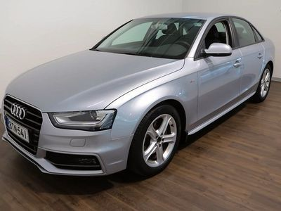 käytetty Audi A4 Sedan Business Sport Plus 2,0 TDI clean diesel 110 kW multitronic **S-Line, Vain 65 tkm.** **** Kork