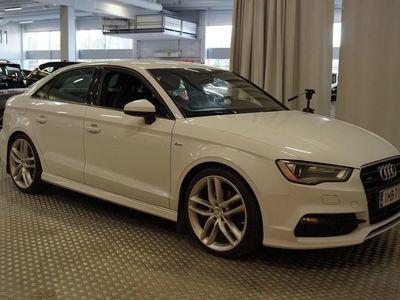 käytetty Audi A3 Sedan Land of quattro Edition 2,0 TDI 135 kW quattro S tronic S LINE ** Suomi-auto / ACC / Bang&Oluf