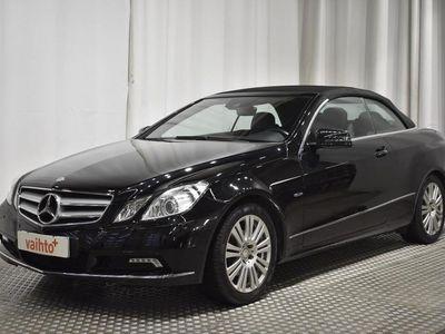 käytetty Mercedes E200 CGI BE Cabriolet A