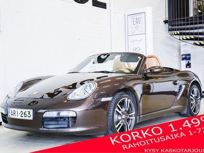käytetty Porsche Boxster 987 Avoauto (AE) 2ov 2687cm3 / Siisti / Hieno väriyhdistelmä / Juuri tehty isohuolto ja kytkin / korko 1,49%