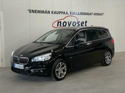 käytetty BMW 220 Gran Tourer i Luxury Line 7p *Supervarusteet / 1.99% Korko / LED / Keyless / Navi / Koukku / 2.0l*