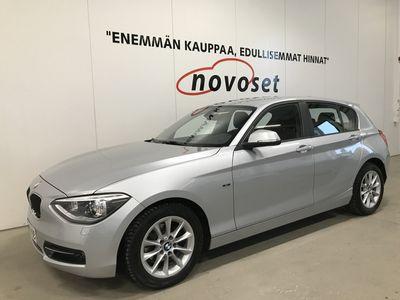 käytetty BMW 116 i A F20 TwinPower Turbo Busin Sport 5ov *SPORTTIPENKIT/NAVI* *TALVIKAMPANJA! RAHOITUSKORKO 1,99% KOTIINTOIMITUS 0€*
