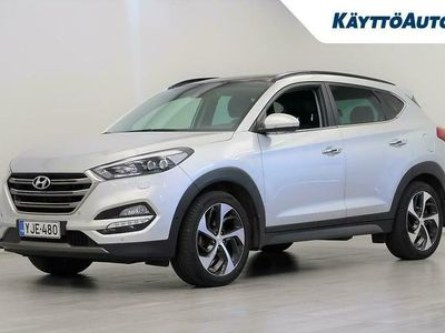 käytetty Hyundai Tucson 4WD 1.6 T-GDI 7DCT-aut. Premium