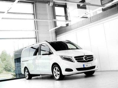 käytetty Mercedes V250 CDI 4Matic Avantgarde Aut + Nahat + Navi + Distronic + LED-valot + Surround View + Vetok.