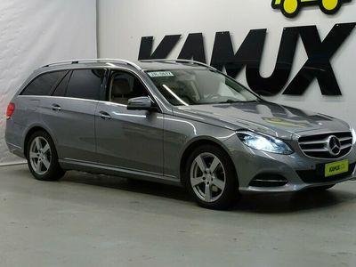 käytetty Mercedes E220 BlueTec T A Business ** SÄHKÖLUUKKU / TUTKAT / NAVI / BLUETOOTH **
