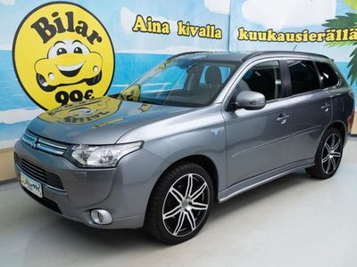 käytetty Mitsubishi Outlander P-HEV 2.0 PHEV Instyle+ 4WD *LISÄLÄMMITIN / VETOKOUKKU / NAVI!* - *UPEA PLUG IN HYBRID!* *LISÄÄMMITIN, KOU