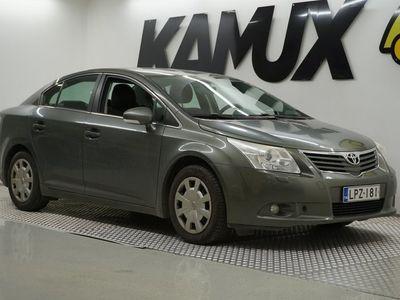 käytetty Toyota Avensis 1,8 Valvematic Linea Sol 4ov Multidrive S / Suomi-auto / Lohko + sisäpistoke / Ilmastointi /