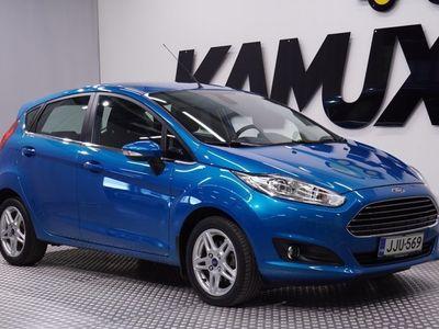 käytetty Ford Fiesta 1,0 EcoBoost 100hv PowerShift Titanium A6 5-ovinen / Suomi-auto / Ilmastointi / Merkkihuoltokirja /