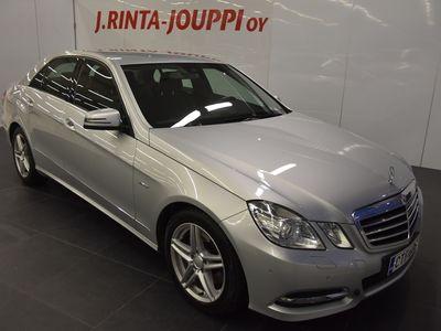 käytetty Mercedes E350 ECDI 4MATIC Sedan (AA) 4ov 2987cm3 A Avantgarde J. autoturva saatavilla, 6kk kuluton ja kor
