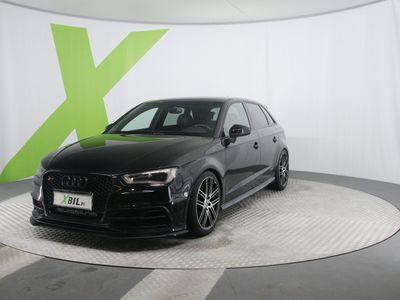 käytetty Audi S3 Sportback 2,0 TFSI 221 kW quattro Black Edition S tronic *XBIILIN XMAS! KORKO alk. 0,99%!* NÖYRYYTYKSEN AMMATTIL...