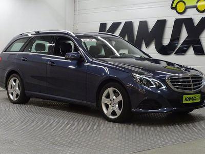 käytetty Mercedes E220 BlueTec T A Business / ILS / Sähkökontti / Nahkasisusta / Comand