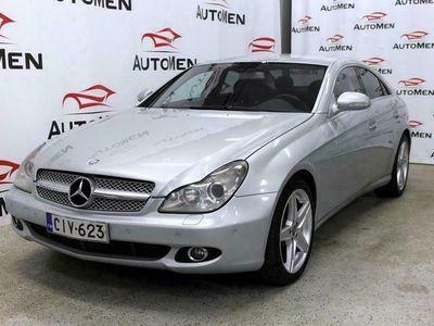 käytetty Mercedes CLS320 CDI V6 4d A ** Webasto, Navi, Nahkaverhoilu, Rahoitus jopa ilman käsirahaa**
