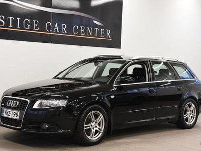 käytetty Audi A4 BLACK FRIDAY 0% KORKO Avant Pro Business S line -ulkopaketti 2,0 TDI 103 kW multitronic-aut. Koukku
