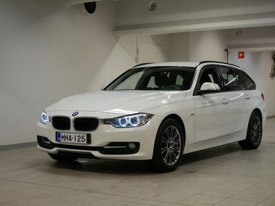 käytetty BMW 320 320 F31 Touring d TwinPower Turbo Sport Line Edition **Nyt kaikkiin vaihtoautoihin korko 0,99%+ kulut Huoltorahalla!**