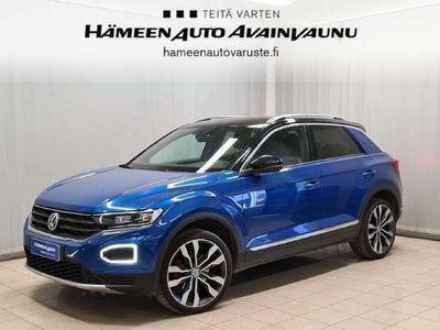 käytetty VW T-Roc Sport 2,0 TSI 140 kW (190 hv) 4MOTION DSG-automaatti - *Adapt.vakkari *Webasto *Huippuvarusteet