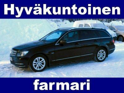 käytetty Mercedes C180 CDI BE T Premium Busin (MY12) !! HYVÄKUNTOINEN JA KÄYTÄNNÖLLINEN FARMARI !!