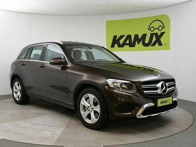 käytetty Mercedes GLC220 d 4Matic A Exclusive // Vaalea nahkaverhoilu / Peruutuskamera / Navigointi //