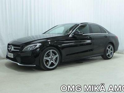 käytetty Mercedes C200 Edition 4MATIC AMG *ULKO- JA SISÄPUOLEN AMG-PAKETIT, LEDIT, NELIVETO YMS.*