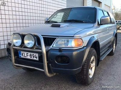 käytetty Mitsubishi Pajero Sport