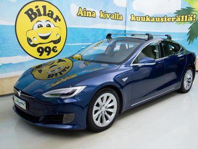 käytetty Tesla Model S 90D *FACELIFT, LISÄTAKUU OSTETTAVISSA, SUPERCHARGER!* - *0 KORKO 0, BLACK FRIDAY HULLUUTTA!*