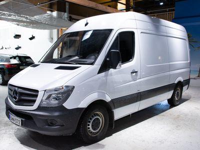 käytetty Mercedes Sprinter 314CDI-3,5/37K keskipitkä A2 *ALV VÄHENNYSKELPOINEN*Takalaitanostin Dhollandia 500 kg** - *HULLUT AUTOMARKKINAT!!!*
