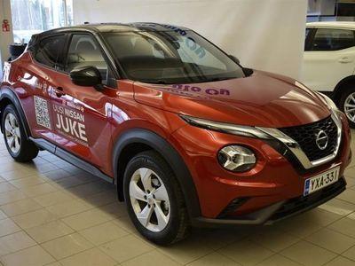 käytetty Nissan Juke DIG-T 117HP 7DCT N-Connecta Tech Pack DCT+Navi+two-tone *0% rahoitustarjous ei muita kuluja!*