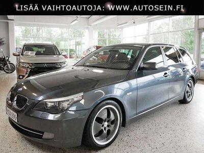 "käytetty BMW 525 3.0 E61 LCI Touring #18"" vanteet #sport-alusta #xenon"