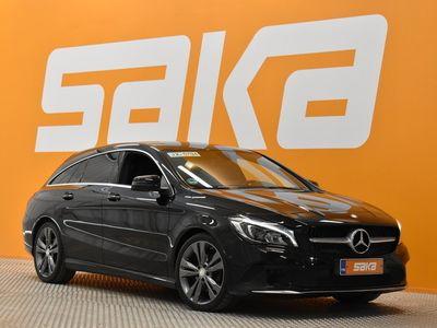käytetty Mercedes 200 CLA-sarjad A Shooting Brake ** Sporttipenkit / LED / Cruise / AmbientLight / Musta sisäkatto / Puolinahat **
