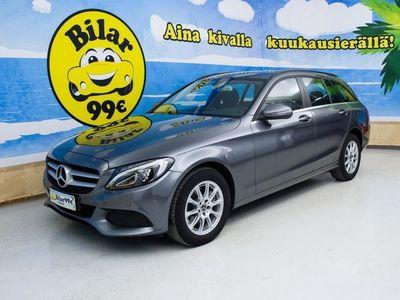 käytetty Mercedes C200 T 9G-TRONIC - *2X ALUT // TÄYS MERKKIHUOLTO // NAVI // VAKKARI* - *NYT ON OSTAJAN MARKKINAT!*