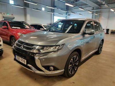 käytetty Mitsubishi Outlander P-HEV Instyle Navi 4WD 5P ** Merkkihuollot / Lisälämmitin / ACC / BLIS / 360° / Rockford Fosgate / LED / KeyLessGo **