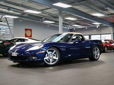 käytetty Chevrolet Corvette C6 Convertible 6,0 V8, Man, Avo, Bose, Nahat, Cruise, Xenon, Met.sininen