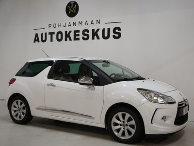 käytetty Citroën DS3 VTi 120 So Chic Automaatti - ** Kotiintoimitus ** - ** Vakkari / Koukku / Ilmastointi **